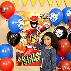 Power Rangers Party Games & Activity Ideas