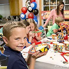 Power Rangers Party Cake Ideas