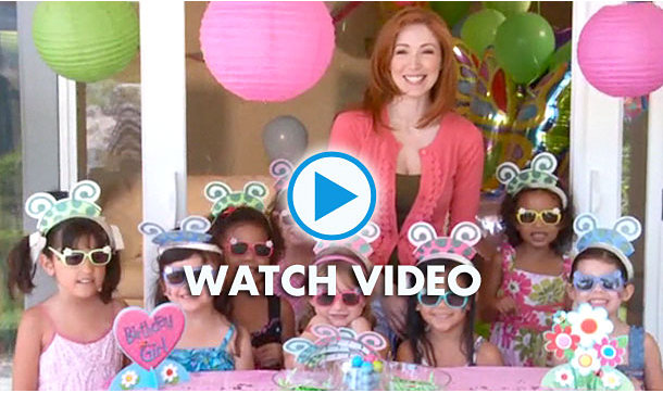 Garden Girl Party Ideas Video