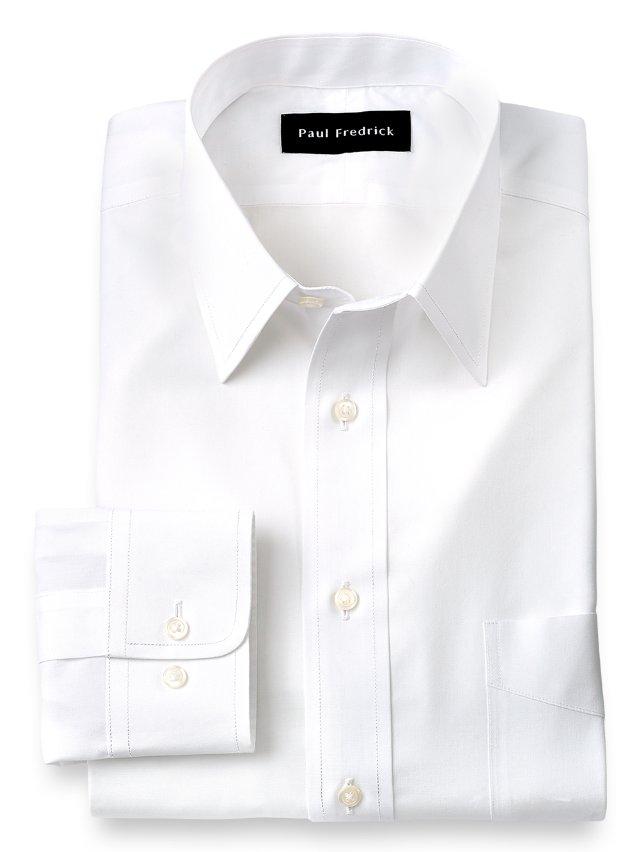 Non-Iron Supima Cotton Straight Collar Dress Shirt