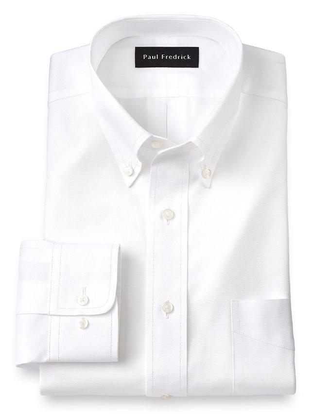 Egyptian Cotton Button Down Collar Dress Shirt