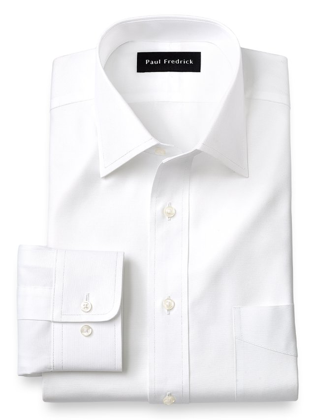 Egyptian Cotton Windsor Spread Collar Dress Shirt