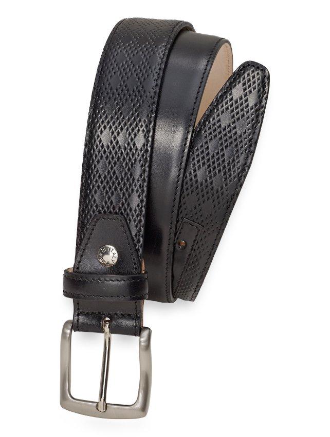 Bruce Diamond Perforated Belt