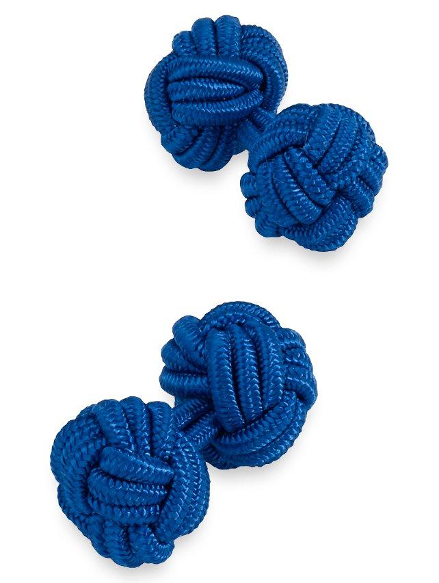 Silk Knots Cufflink