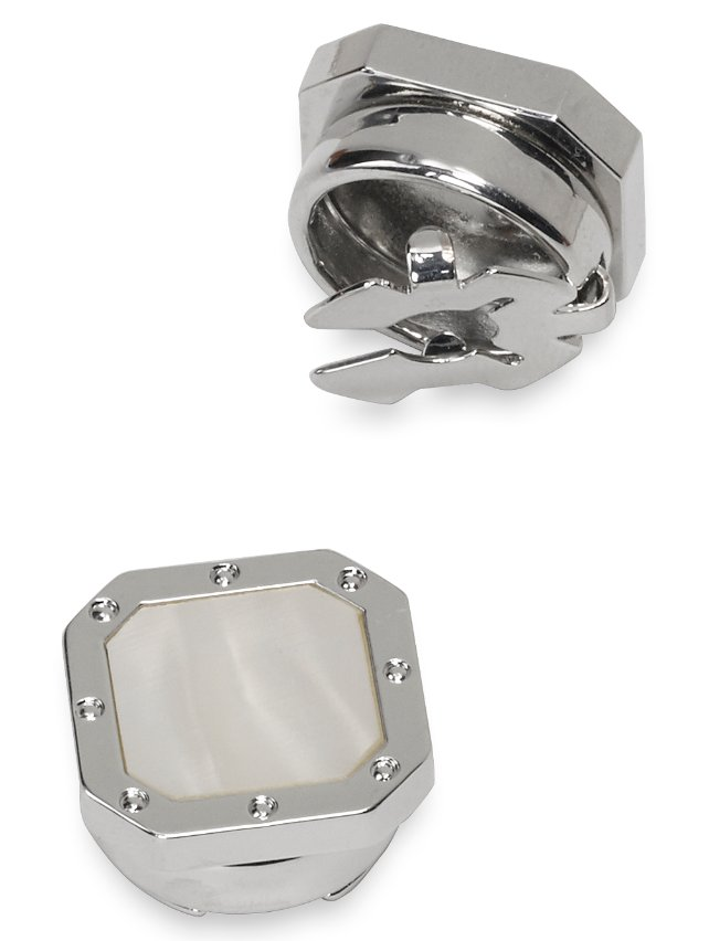Mother Of Pearl Square Button Cover