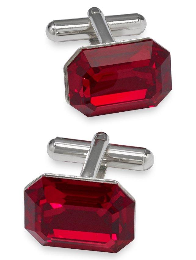 Swarovski Crystal Stone Cufflink