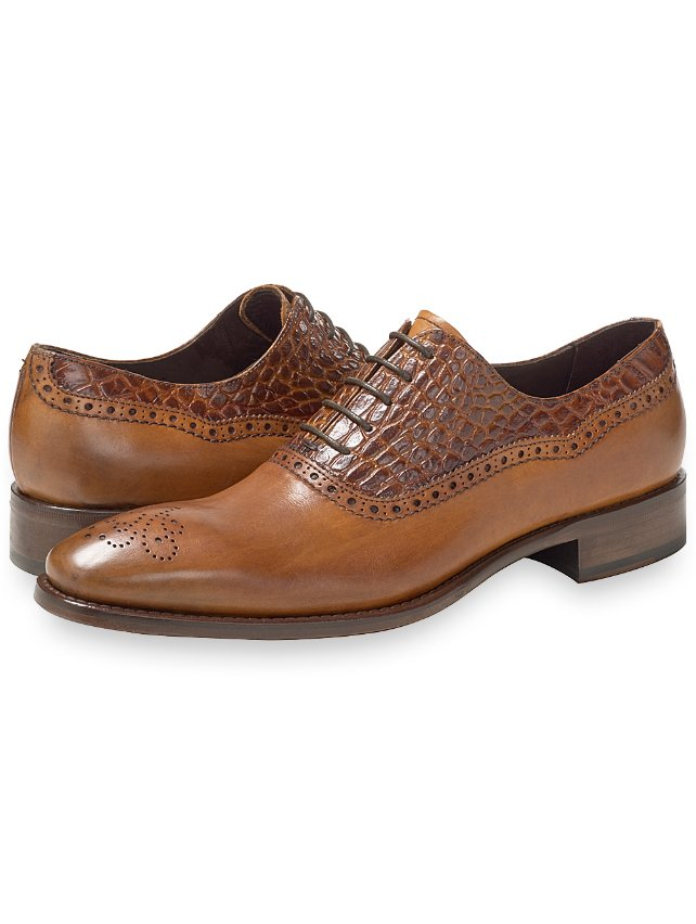 Bryce Embossed Oxford