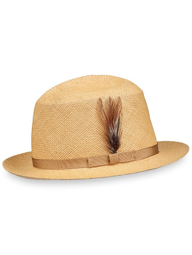 Genuine Panama Straw Fedora