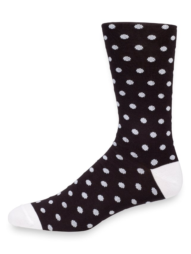 Pima Cotton Dot Socks