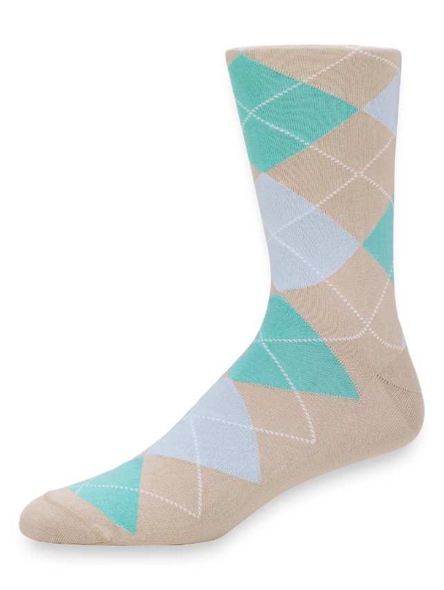 Peruvian Pima Cotton Argyle Socks