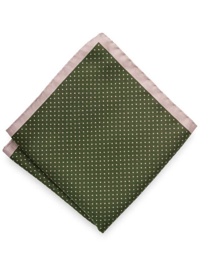 Silk Dot Pocket Square