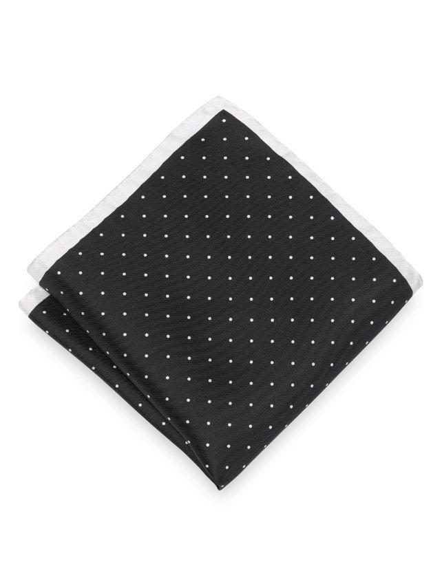 Silk Micro Dot Pocket Square