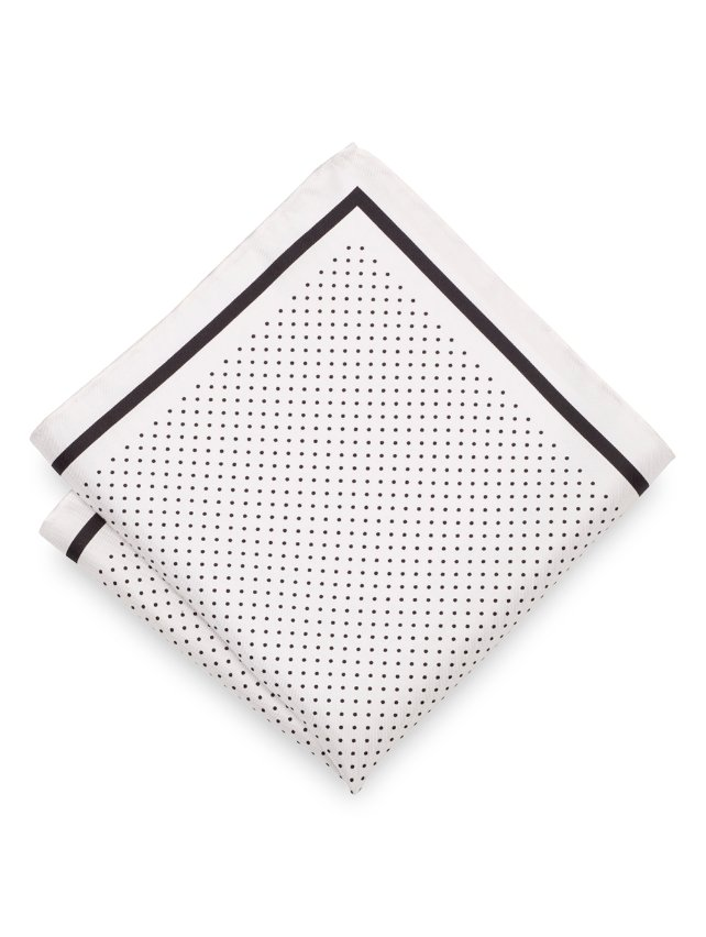 Italian Dot Pocket Square
