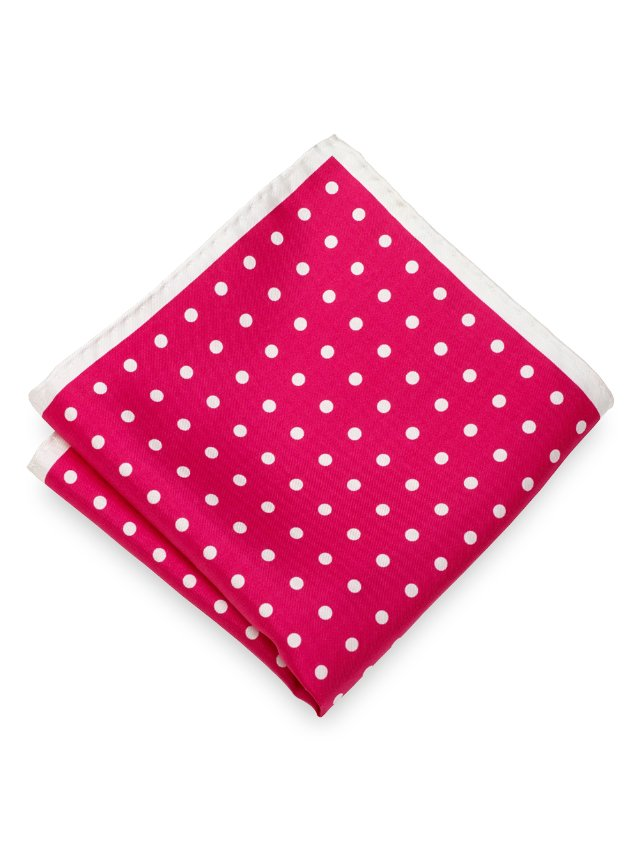 Italian Dot Pocket Square
