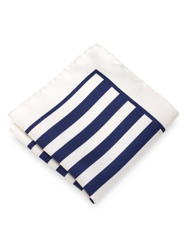 Italian Stripe Pocket Square