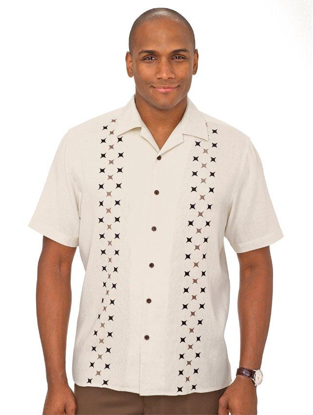 Silk Embroidered Sport Shirt