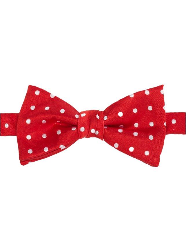Dots Pre-Tied Bow Tie