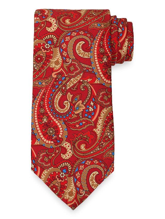 Paisley Printed Tie