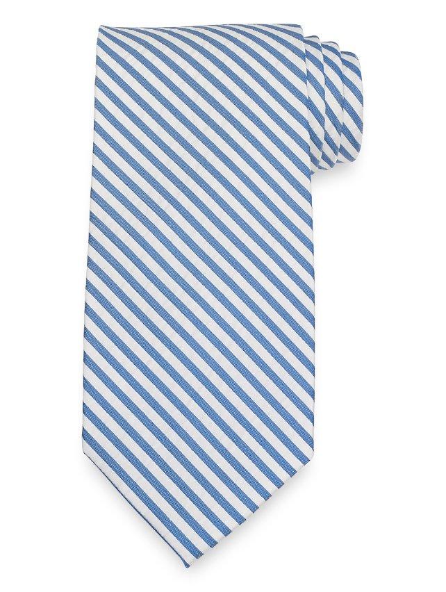 Seesucker Stripe Tie