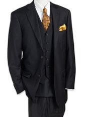 Trim Fit 100% Wool Single Breasted Suit Separates, All items sold Separately