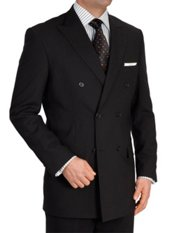 100% Wool Double-Breasted Suit Separates, All items sold Separately