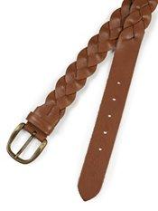 Italian Braided Leather Belt