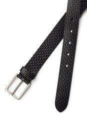 Italian Embossed Leather Belt