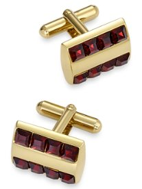 Swarovski Crystal Rectangle Cufflink