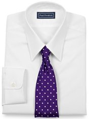 Premium Cotton Straight Collar Dress Shirt