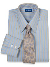 Trim Fit Premium Cotton European Style Dress Shirt