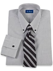 Fine Line Stripe Dress Shirt