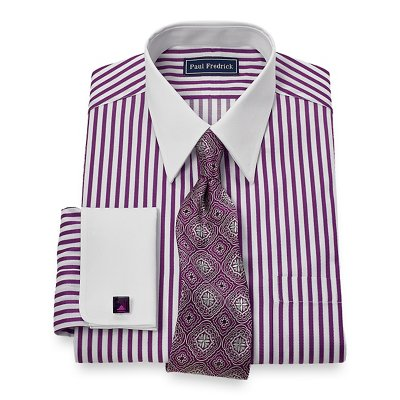 See all results for paul fredrick white dress shirt. Paul Fredrick Men's Pinpoint.