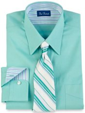 Pinpoint Oxford Straight Collar Dress Shirt