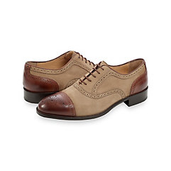 Bennett Cap Toe Oxford $210.00 AT vintagedancer.com