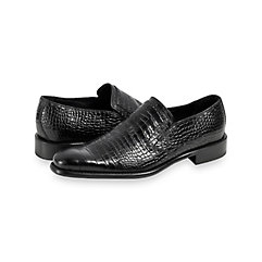 1960s Mens Shoes- Retro, Mod, Vintage Inspired Harrington Embossed Loafer $150.00 AT vintagedancer.com