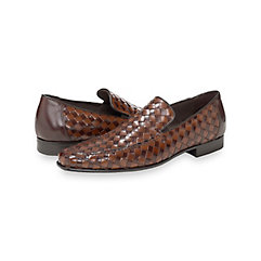 1950s Style Mens Clothing Asher Woven Loafer $160.00 AT vintagedancer.com
