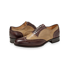 1930s Style Mens Shoes Connor Wingtip Oxford $180.00 AT vintagedancer.com