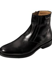 Italian Leather Side Zip Boot