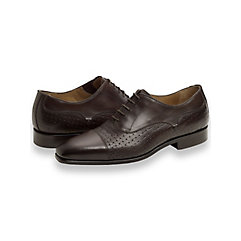Oliver Embossed Cap Toe Oxford $230.00 AT vintagedancer.com