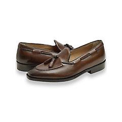 Finch Braided Tassel Loafer $230.00 AT vintagedancer.com