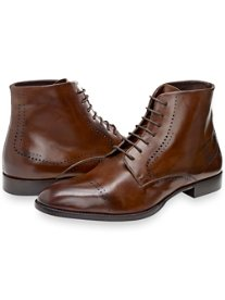 Keegan Cap Toe Lace Up Boot