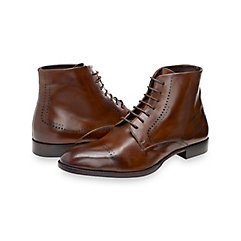 1920s Style Mens Shoes Keegan Cap Toe Lace Up Boot $190.00 AT vintagedancer.com