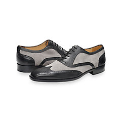 1940s Style Mens Clothing Alfred Wingtip Oxford $250.00 AT vintagedancer.com