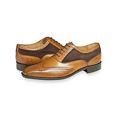 Dillon Wingtip Oxford $230.00 AT vintagedancer.com