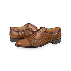 Rockabilly Men's Clothing Jenson Cap Toe Derby $200.00 AT vintagedancer.com