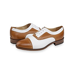 DressinGreatGatsbyClothesforMen Cole Cap Toe Oxford $195.00 AT vintagedancer.com