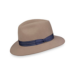 1930s Style Mens Hats Wool Presnap Fedora $70.00 AT vintagedancer.com