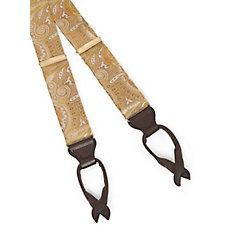Paisley Silk Suspenders $60.00 AT vintagedancer.com