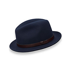 Wool Fedora with Leather Band $80.00 AT vintagedancer.com