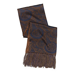Reversible Paisley Silk Scarf $75.00 AT vintagedancer.com
